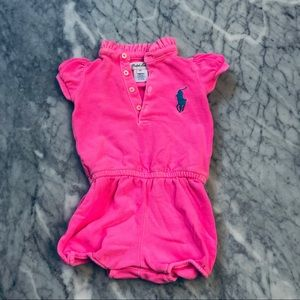 Ralph Lauren One Pieces - 🌸Ralph Lauren Jumper Neon Pink - 6mo